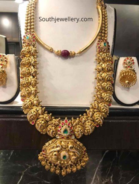 kante necklace and nakshi haram