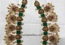 laksmi peacock gold haram