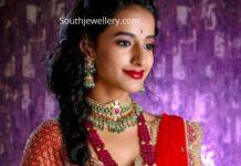 indian ruby beads mala