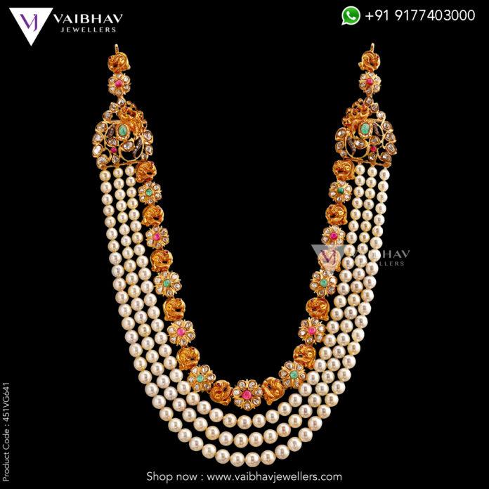 pearl necklace designs