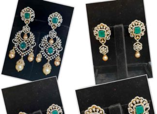 detachable multi way diamond earrings