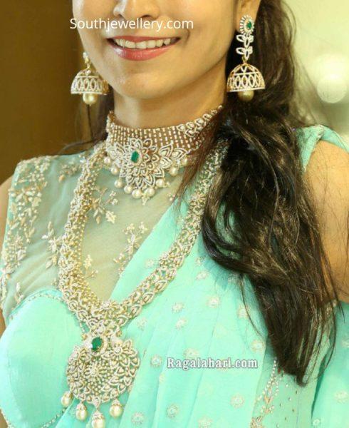 diamond bridal jewelry set (1)