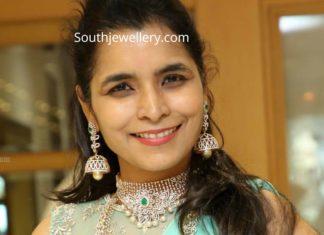 diamond bridal jewellery set