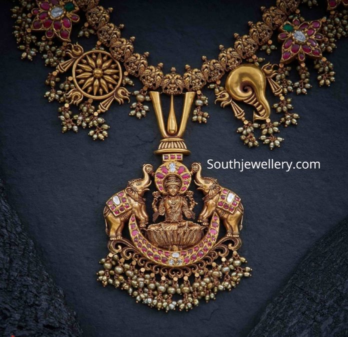 Gold Long Chain Latest Jewelry Designs Indian Jewellery Designs