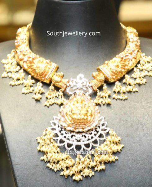kante style guttapusalu necklace