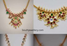 light weight kundan necklace 22k gold (5)