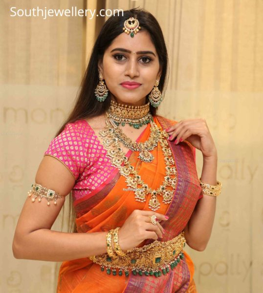 manepally gold jewellery collection
