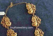 peacock haram 22 k jewellery