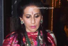 sunita kapoor in emerald jewellery (1)