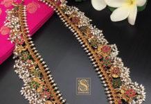 sillver guttapusalu necklace