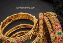 antique gold bangles (2)