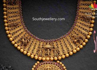 antique gold long haram