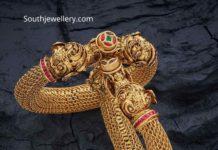 antique gold mesh kadas