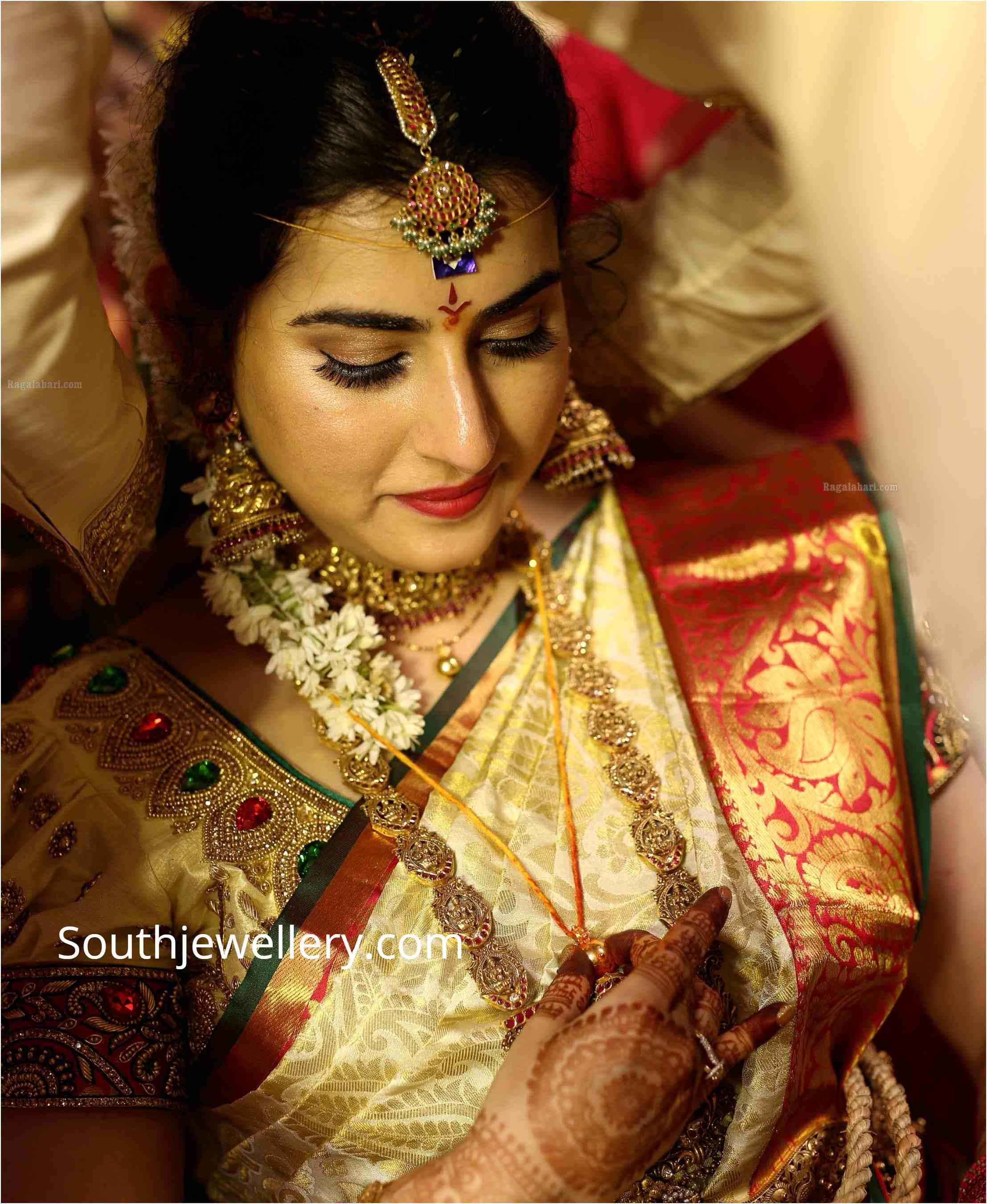 bigg boss ARCHANA SHASTRY wedding jewellery (2)