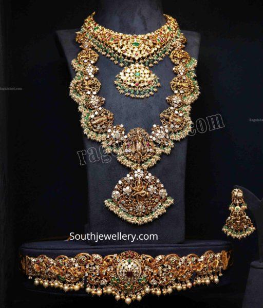 complete bridal jewelry set pmj jewels (1)