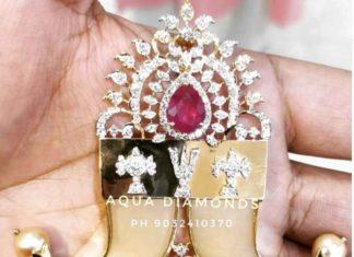diamond puligoru pendant