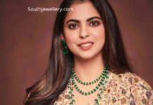 isha ambani diamond emerald jewellery (1)
