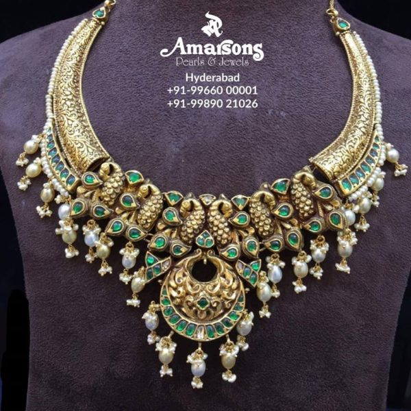 latest 22 carat gold necklace designs (1)