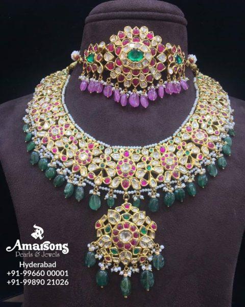 latest 22 carat gold necklace designs (2)