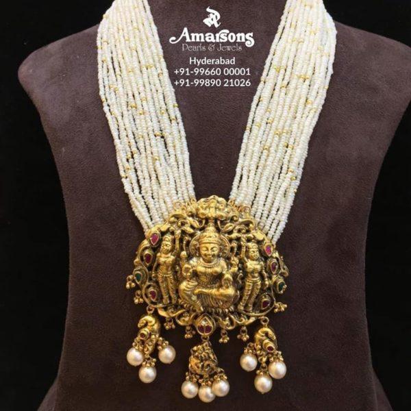 latest 22 carat gold necklace designs (4)