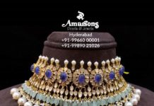 latest gold necklace designs 22 k gold (3)