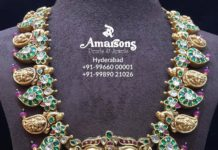 latest gold necklace designs 22 k gold (4)