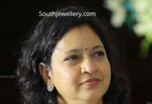 mahesh babu sister diamond necklace set