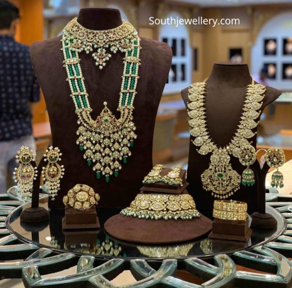 polki diamond jewellery set (1)