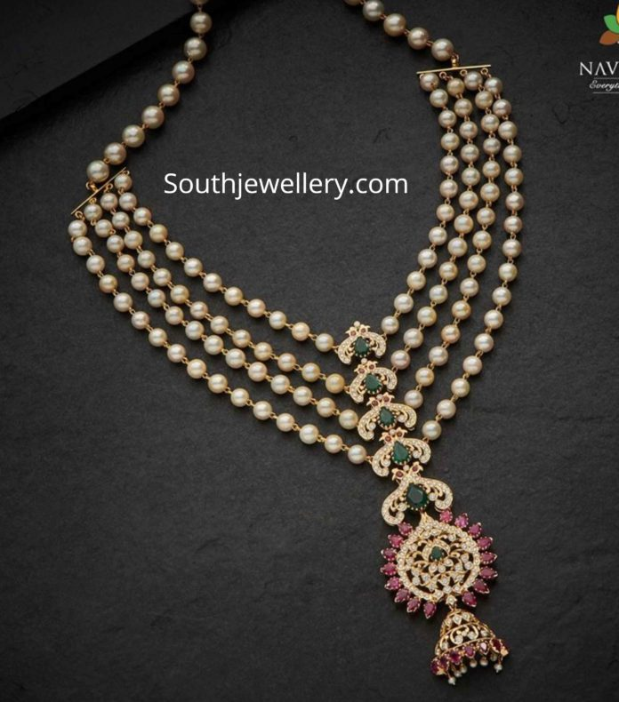south sea pearl step necklace