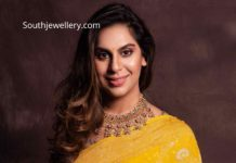 upasana konidela kundan necklace