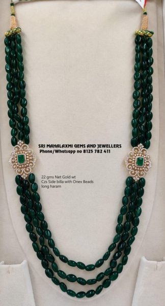 beads long necklace designs