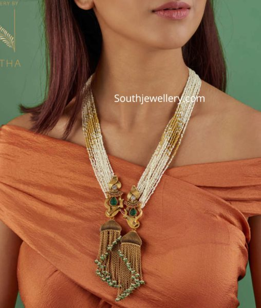 PEARL HARAM WITH PENDANT (1)