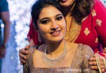anam mirza wedding reception jewellery (1)