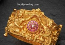 antique gold kada