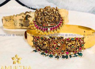 baby vaddanam designs 22 k gold