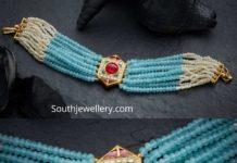beads choker designs