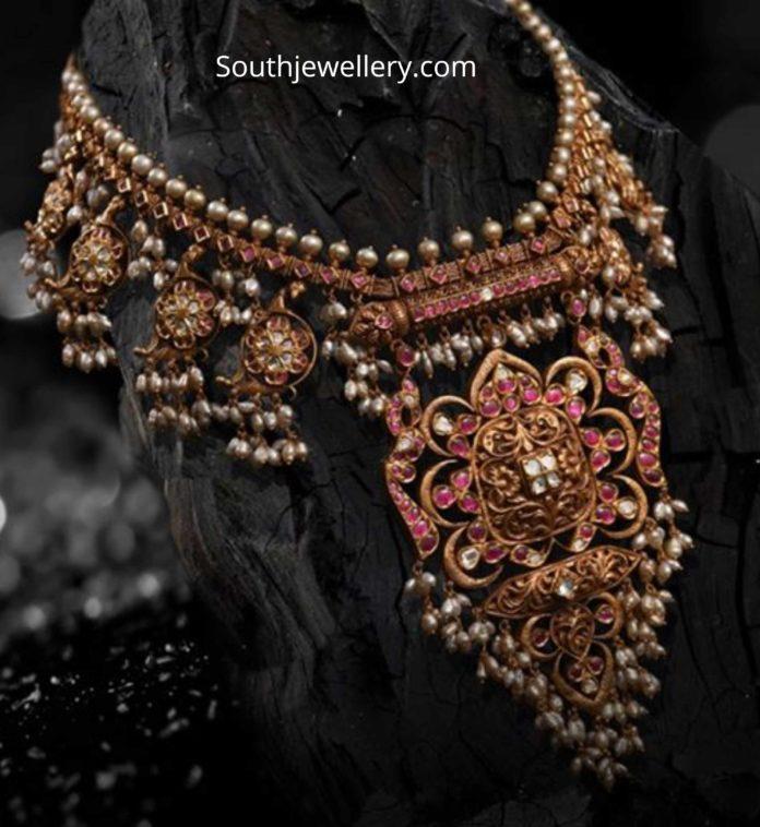 bottu guttapusalu necklace