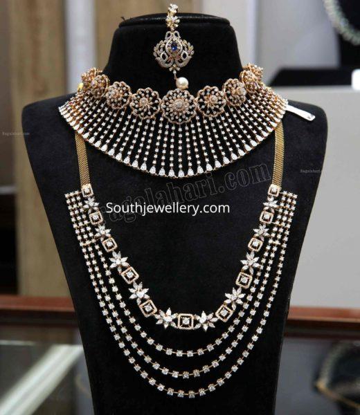 diamond necklace set by malabar gold and diamonds