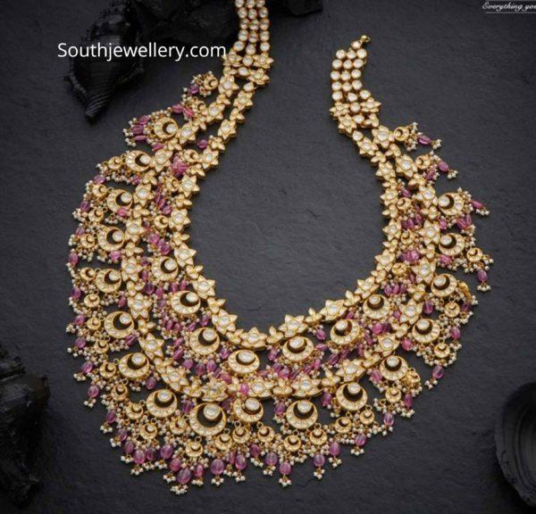 polki and ruby beads haram