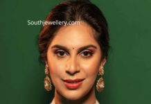 upasana konidela heavy polki choker set at anam mirza wedding
