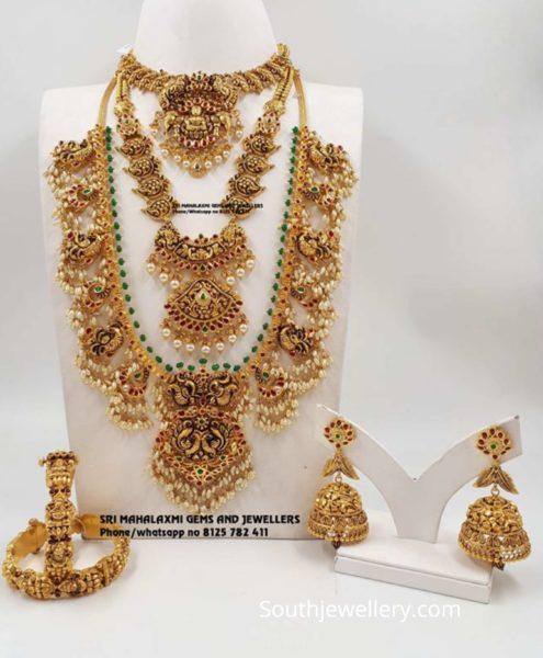 22k gold wedding jewellery set