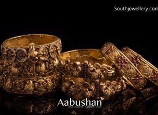 antique gold bangles 22k gold