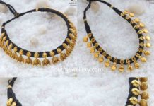 black dori necklace designs