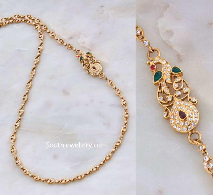 Thali Chain Designs Latest Jewelry Designs Indian Jewellery Designs