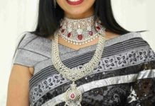 diamond necklace set by manepally (2)