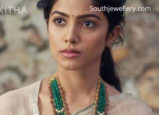emerald beads long haram designs