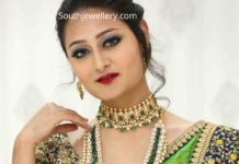 emerald polki jewellery by manepally (1)