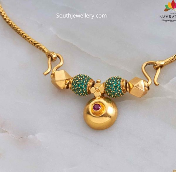 fancy thali chain (1)