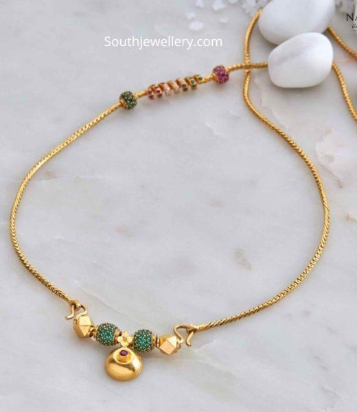 fancy thali chain
