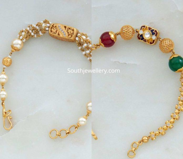gold bracelet designs